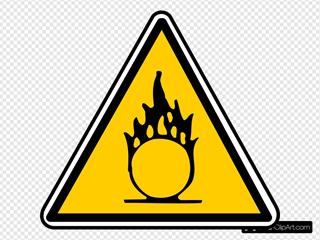 Warning - Flammable 2