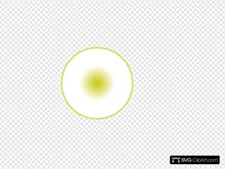 3d Dark Yellow Ball