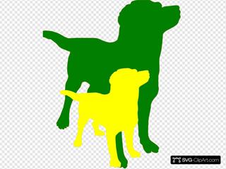 Dogcolors SVG Clipart