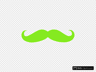 Chartuse Mustache