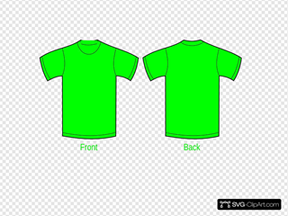 Plain Yellow Green Shirt