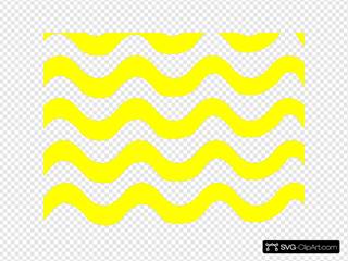 Yellow Wave Lines