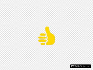 Yellow Thumbs Up