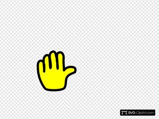 Hand Yellow