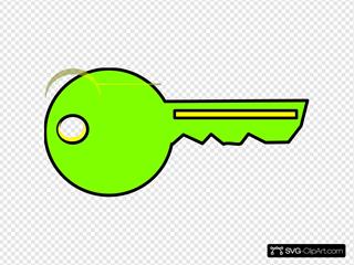 Yello & Green Key