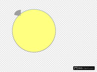 Yellow Circle Icon