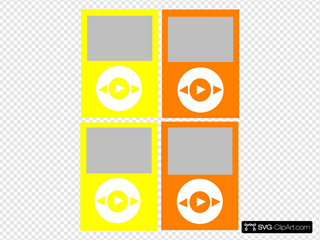 Yellow SVG Clipart