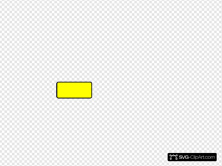 Blank Yellow Caution Traffic Sign SVG Clipart