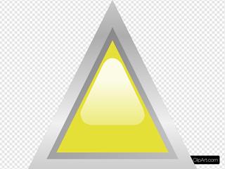 Led Triangular 1 (yellow)