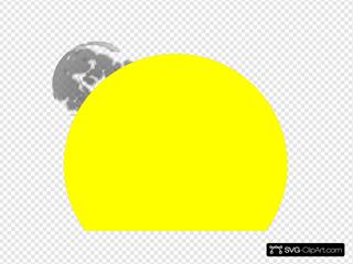 Yellow Shine Moon