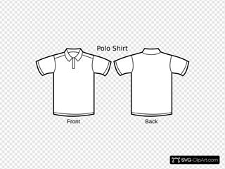 Polo Shirt Template