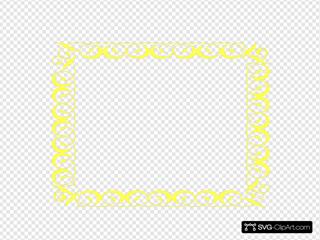 Yellow Border Frame