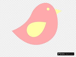 Pinke And Yellow Birdie