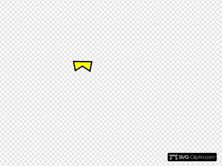 Yellow Line SVG Clipart