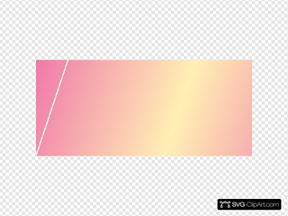 Pink Yellow Gradient SVG Clipart