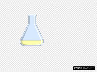 Chemistry Flash Yellow Flask