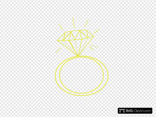 Diamond Ring Yellow