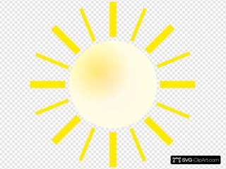 Sunshine SVG Clipart