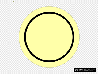 Power-button-on-yellow-background