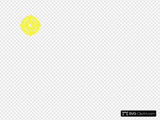 Yellow Circle Design