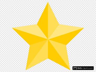 Star 2 SVG Clipart