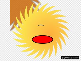Shocked Sun