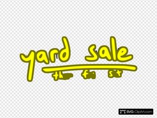 Yard Sale Yellow