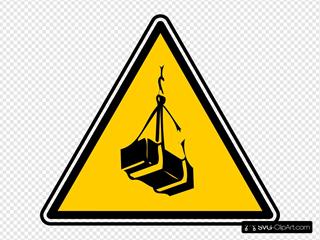 Warning - Crates Lift