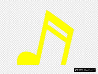 Yellow 16th Note