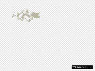 Yellow Wedding Bells SVG Clipart