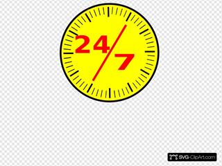 24 7 Clock