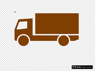 Brown Lorry