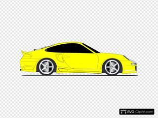 Yellow Sports Car2